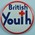 Circular plastic badge: British Youth