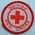 Circular cloth badge: British Red Cross