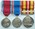 Set of medals: King George V Coronation Medal 1911, King George V Silver Jubilee Medal 1935 and Voluntary Medical Service Medal with one bar