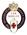British Red Cross 15 year service badge