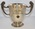 Two-handled silver competition cup, engraved 'Denbighshire Voluntary Aid Organization, Women's V.A.Detachment, The Jones-Mortimer Cup.'