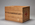 large wooden packing crate marked 'Gift of the Canadian Red Cross'