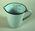 Enamel measuring jug
