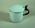 Enamel sputum mug made by Kockums of Sweden