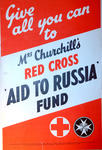 Poster advertising Mrs Churchill's Aid to Russia Fund