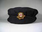 gabardine cap with Member's gilt hat badge