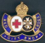Red Cross Gift Shop badge