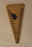Scissor case made from plaited string