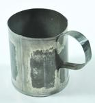 tin mug with handle