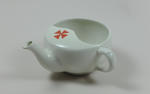 Feeding cup with Maltese type cross