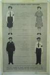Junior Red Cross poster, illustrating cadet uniform
