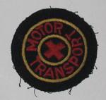British Red Cross cloth badge: Motor Transport
