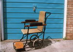 folding steel invalid's chair
