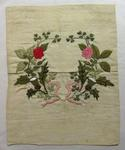 Piece of embroidery worked by wounded
