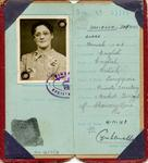 Identity Card of Daphne Davidson