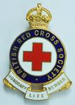 British Red Cross Badge of Honorary Life Membership