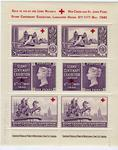 Set of stamps sold in aid of the Lord Mayor's Red Cross and St John Fund, 1940