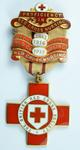 Proficiency in Red Cross Nursing badge with three bars 1915-1917