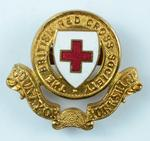 British Red Cross cap badge