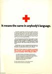 'It means the same in anybody's language' text only poster.