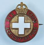 Red Cross Agriculture Fund badge