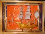model wooden junk