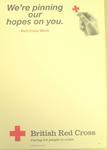 poster advertising Red Cross Week, 1996