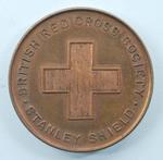 British Red Cross Stanley Shield medal in box