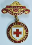 British Red Cross County of London badge, Fulham and Putney