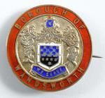 Borough of Wandsworth badge, 1917