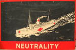 One of a set of Junior Red Cross posters: Neutrality