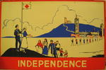 One of a set of Junior Red Cross posters: Independence