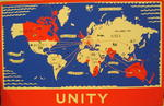 One of a set of Junior Red Cross posters: Unity