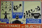 One of a set of Junior Red Cross posters: Maintenance of Objectivity
