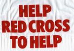 'Help Red Cross To Help' t-shirt