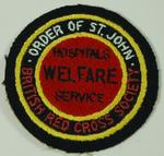 'Hospitals Welfare Service' badge