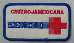 Cloth badge: Cruz Roja Mexicana