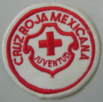 Cloth badge: Cruz Roja Mexicana Juventud
