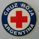 Sticker: Cruz Roja Argentina