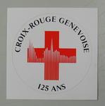 Sticker: Croix-Rouge genevoise 125 Ans