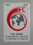 Sticker: 1863-1988 125 Anni Di Generoso Impegno ... E Sempre In Crescita