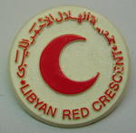 Badge: Libyan Red Crescent
