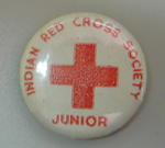 Badge: Indian Red Cross Society Junior