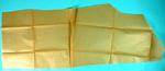 Brown paper pattern for part of British Red Cross Flannel or Viyella pyjama suit