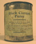 Tin of Black Currant Puree