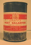Tin of Lusty's Meat Galatine