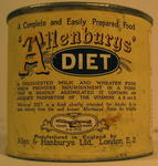 Tin of Allenburys' Diet