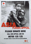 Poster produced for the Asia Floods Appeal, 2004