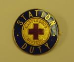 Station Duty Marylebone Division badge
