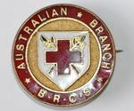 Australian Branch B.R.C.S. badge